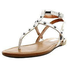INC International Concepts Mirabai 2 Damen US 7 Weiß Badesandale for sale T Strap Sandals, Shoes Sandals, Fashion Branding, Partner, Open Toe, All In One, Best Deals, Casual, Leather
