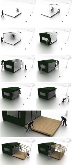Nordic Marine Living - Mini House assembly