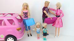 Barbie Camila Novelinha ep 28 Viagem em Familia. バービー 家族旅行