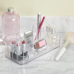 CLARITY Vanity Organizer Clear