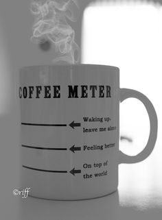 Coffee Meter. I need one of these. Source: 49thparallelblues