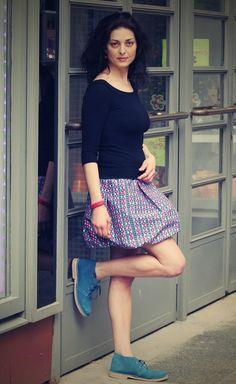 Balonová sukně....srdcová záležitost