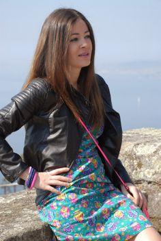 FashionBloggerAndreiaJakeline luciendo Hada Complementos :))) gracias ANDREIA!!!