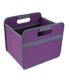 Love this Midnight Magenta Small Classic Foldable Box on #zulily! #zulilyfinds