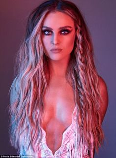 Perrie Edwards wins praise from fans as she proudly displays scar #dailymail