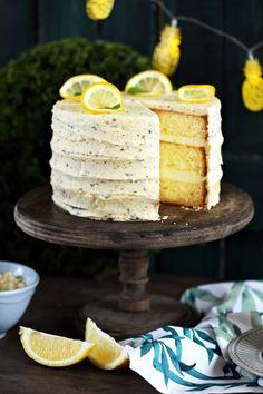 John Lemon, Cake Cookies, Vanilla Cake, Fudge, Fondant, Mousse, Bakery, Food Porn, Food And Drink