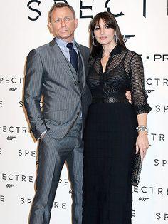 Star Tracks: Wednesday, October 28, 2015 | CLOSE 'BOND'  | Daniel Craig keeps close to new Bond Girl Monica Bellucci as they pose for photographers at the Rome, Italy, premiere of Spectre on Tuesday.