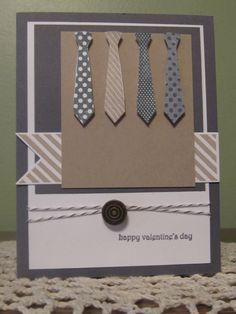Stampin' Up Handmade Greeting Card Masculine by ConroysCorner