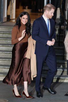 Prince Harry and Meghan Markle return to royal duty in London Meghan Markle Prince Harry, Prince Harry And Megan, Harry And Meghan, Estilo Meghan Markle, Meghan Markle Style, Royal News, Sussex, Canada House, Princess Meghan