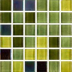 Grön transparent mosaikmix vilken för tankarna till sköldpaddsskalets unika färgvariation. Sweden, Mosaic, Windows, Mosaics, Ramen, Mosaic Art, Window