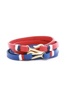 Stussy Leather & Hook Bracelet