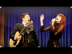 """This is something I wish I could have witnessed:  Go to """"Late Night with Jimmy Fallon"""" and happen to listen live Florence Welch featuring any theme!!! Any, really! Pretty sure that the more absurd, the more I'll enjoy it...     True story! =)"""