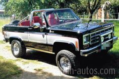 1975 Chevy K5 Blazer - the final year of the full ...