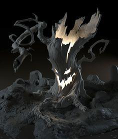 Peet Cooper Tree, hannah kang on ArtStation at https://www.artstation.com/artwork/peet-cooper-tree