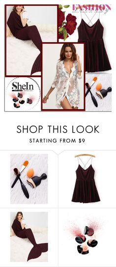 """SheIn  4"" by melissa995 ❤ liked on Polyvore featuring Smashbox"