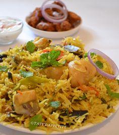 How to make Muslim Biryani, Mughalai Biryani, Muslim Biryani - step by step recipe, Tasty Biryani, easy to cook Biryani, flavorful and delicious Biryani