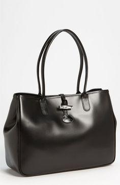 Longchamp 'Roseau' Shoulder Tote available at #Nordstrom