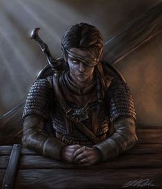 m Wood Elf Ranger Medium Armor Longsword male Tavern urban City Traveler wounded eye story Vistra Steedfast at characterdrawing med Elves Fantasy, Fantasy Rpg, Dark Fantasy Art, Fantasy Artwork, Dungeons And Dragons Characters, Dnd Characters, Fantasy Characters, Elf Warrior, Fantasy Warrior