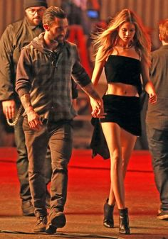 Behati Prinsloo Photos: Adam Levine & Behati Prinsloo Shoot A Music Video