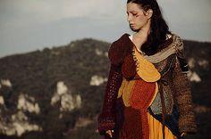 DeDe-Jadupka / Kabát/ Sweater boho, bohemian, gypsy, hippie sweater