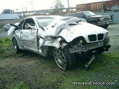 BMW M-Series M3 E46 crashed in Marysville, Washington
