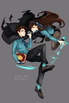 Dipper and Mabel - Reverse Falls