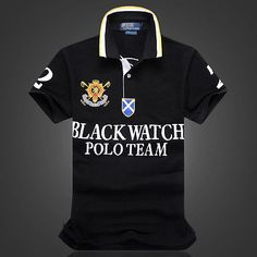 Men's Polo T-Shirt Casual Sport Short Sleeve Shirts Fashion Blue Black White Red