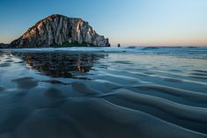 12 Best Small Beach Towns in California (And Where to Stay) Morro Bay California, California Travel, Oyster Restaurant, Rock Formations, Beach Town, Sunset Photography, Best Funny Pictures, Dusk, Sunsets
