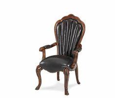 Side Chair - Leather|Palace Gates| Michael Amini Furniture Designs | amini.com