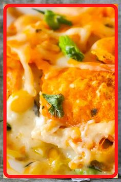Doritos Casserole with Chicken is an easy weeknight dinner recipe using rotisserie chicken. This creamy chicken casserole is loaded with cream cheese, corn, shredded cheddar and topped with crumbled Doritos. Recipes Using Rotisserie Chicken, Leftover Chicken Recipes, Chicken Dips, Chicken Recepies, Baked Chicken Tacos, Fried Chicken, Doritos Casserole, Casserole Recipes, Casserole Dishes