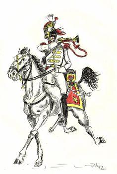 FRANCE -  Polish 14th regiment of cuirassiers 1813 by Stcyr74 on DeviantArt