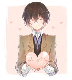 [*Nosoblood*] ° ° [𝓒𝓻𝓮𝓭𝓲𝓽 𝓽𝓸 𝓐𝓻𝓽𝓲𝓼𝓽] ° ° [𝓛𝓲𝓴𝓮 𝓲𝓽. 𝓢𝓲𝓰𝓷 𝓲𝓽, 𝓽𝓱𝓮𝓻𝓮'𝓼 𝓪 Dazai Bungou Stray Dogs, Stray Dogs Anime, Bungou Stray Dogs Characters, Anime Characters, Cute Anime Guys, Anime Love, Chica Anime Manga, Anime Art, Dazai Osamu