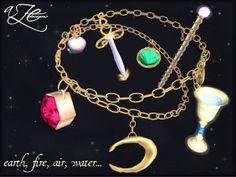 AZE Minor Arcana Tarot Charm Bracelet