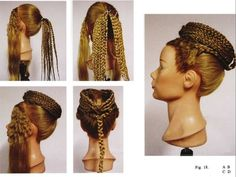 Here's a round-up of all new and exciting about 18 Glam Goddess Braids You Will Love Wearing. We have 7 images ab Egyptian Hairstyles, Roman Hairstyles, Medieval Hairstyles, Vintage Hairstyles, Braided Hairstyles, Beautiful Hairstyles, Greek Hair, Historical Hairstyles, Curly Hair Styles