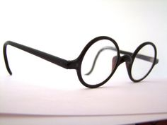 Rare Antique Eyeglasses Round LENS Frames 1920s by ifoundgallery, $125.00