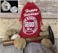 Holiday Gift Bag - 10 Break Your Own Moroccan Geodes