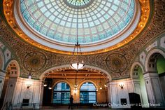 For free things to do in Chicago, the Chicago Cultural Center is a must-visit, offering free events, art exhibits, concerts, guided tours and self-guided.