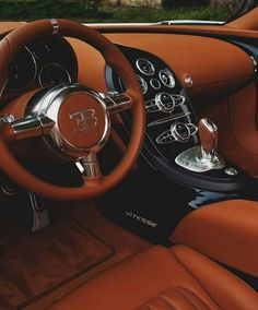 Bugatti Veyron Vitesse Interior. Perfection! Via @mrgoodlife.co by millionaire.society