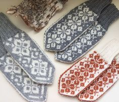 Vottemønster,Sokkemønster ,mønster til pannebånd og mini Selbu Vottemønster,Sokkemønster ,mønster til pannebånd og mini Selbu Knit Mittens, Knitting Socks, Mitten Gloves, Needlework, Sunglasses Case, Knit Crochet, Diy And Crafts, Projects To Try, Monogram