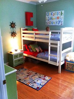 """Boy toddler room...love it...I am trying to make Jackson's room """"less baby"""" and """"more grown up""""..."""