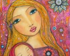 mother and child painting - Google Search