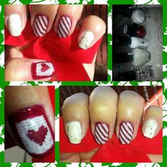 Nails Holliday candy c :)