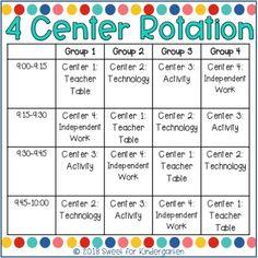 How to Run Kindergarten Centers Successfully   Sweet for Kindergarten