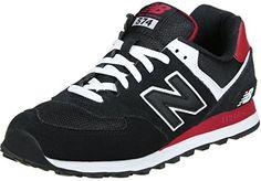 New Balance ML574-CPA-D Sneaker - http://on-line-kaufen.de/new-balance/new-balance-ml-574-cpa-black-red