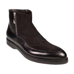 Cesare Paciotti Men's Shoes Black Boots
