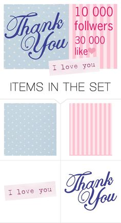 """THANK YOU!!!!!!"" by sebi86 ❤ liked on Polyvore featuring art"