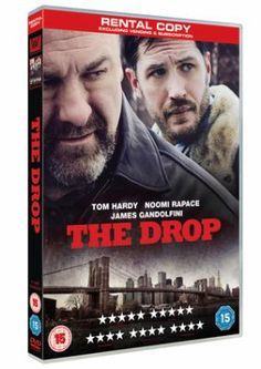 The Drop - Tom Hardy and James Gandolfini star in this crime drama directed by Michael R. Roskam. Bob Saginowski (Hardy) is a lonely bartender who has a business on the side; he channels money for local gangsters with the help of his cousin Marv (Gandolfini).Available to borrow from Doncaster Libraries
