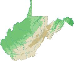 51 Best Topographical State Maps images