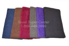 Bleach resistant salon towels for hair salons, nail salons, tanning salons or any business looking for high quality towels in luxury grade to stock up their business with. Beautiful colors and highly absorbent hand towels always available at wholesale prices from www.towelsupercenter.com, same day shipping.