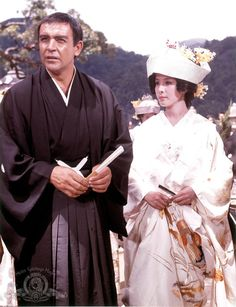 Still Of Sean Connery And Mie Hama In You Only Live Twice